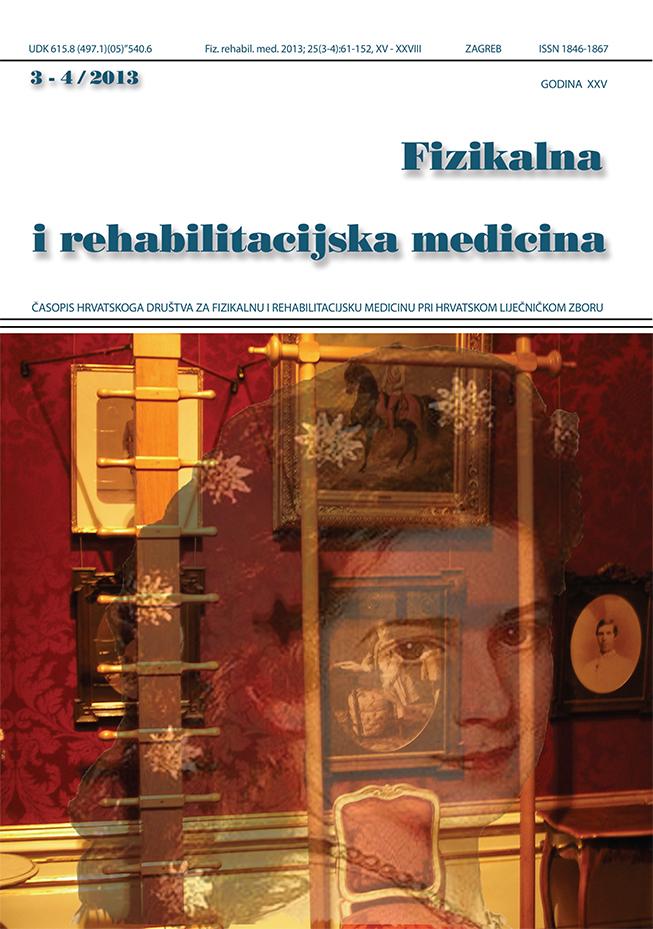 Fizikalna i rehabilitacijska medicina – god 2013 br 3 – 4