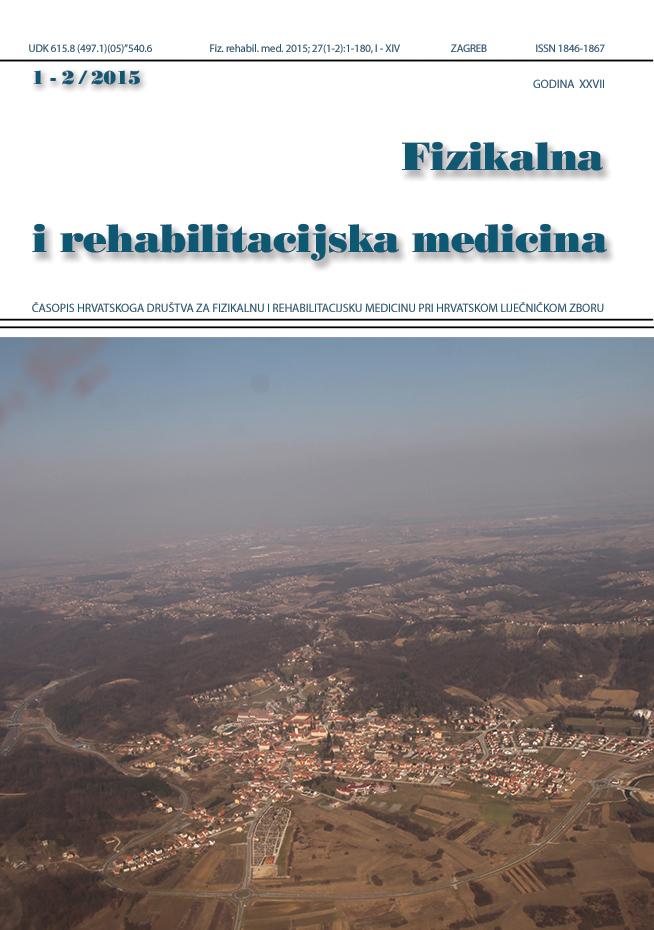 Fizikalna i rehabilitacijska medicina – god 2015 br 1 – 2