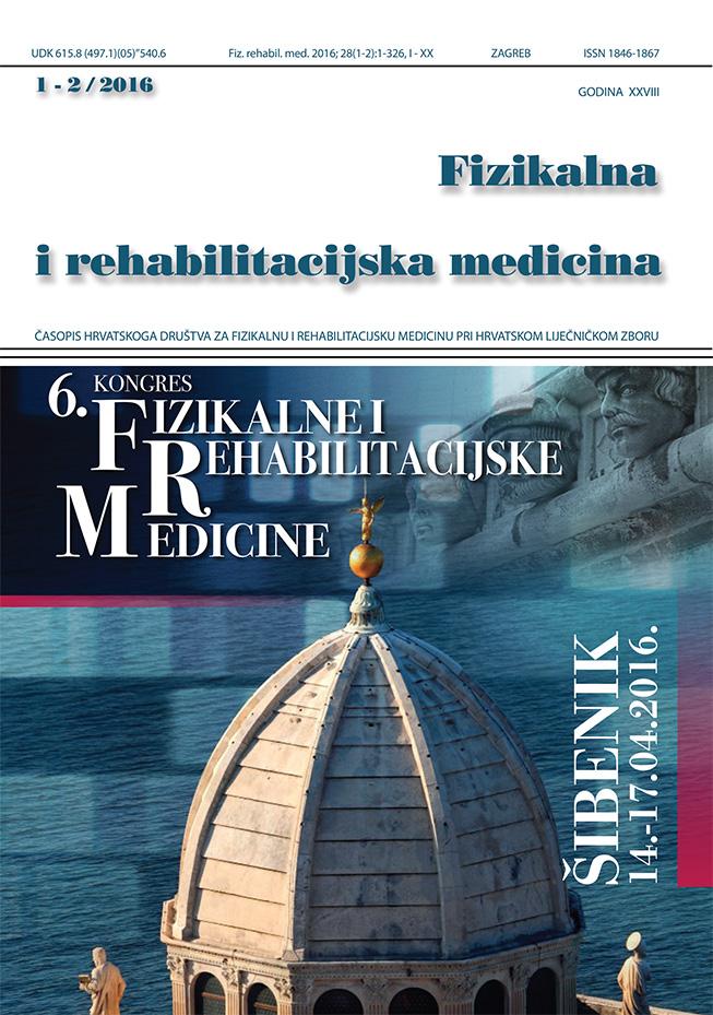 Fizikalna i rehabilitacijska medicina – god 2016 br 1 – 2