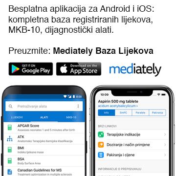 Mediately Baza Lijekova
