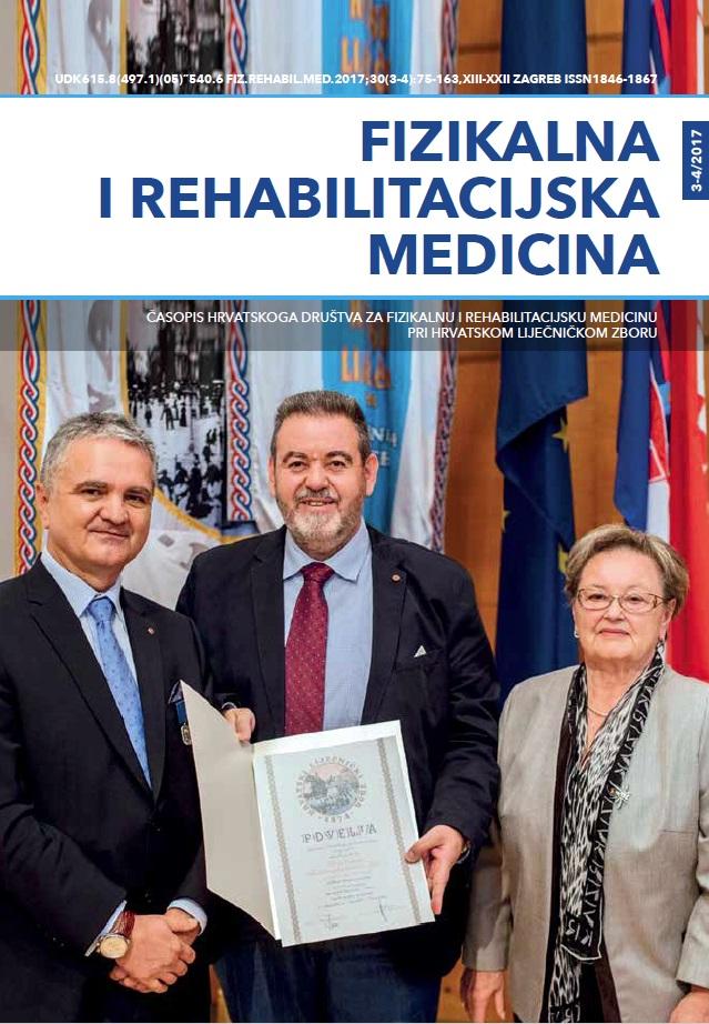 Fizikalna i rehabilitacijska medicina – god 2018 br 1-2