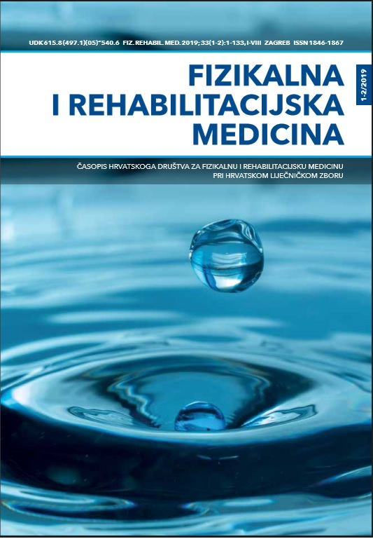 Fizikalna i rehabilitacijska medicina – god 2019 br 1-2