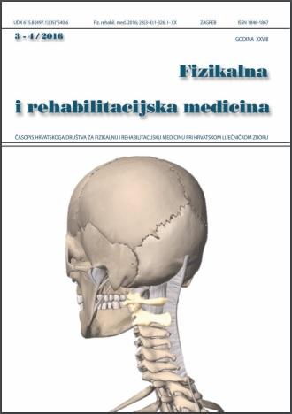 Fizikalna i rehabilitacijska medicina – god 2016 br 3-4