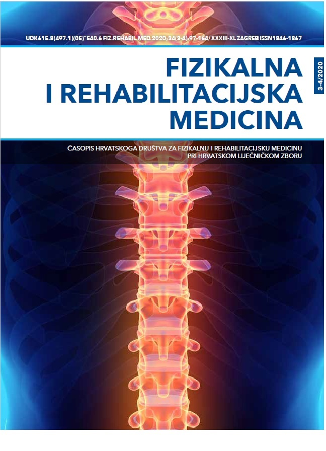 Fizikalna i rehabilitacijska medicina – god 2020 br 3-4
